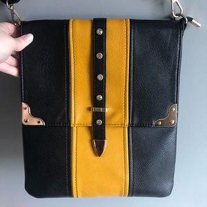 Handbags - Crossbody Black Gem Bag